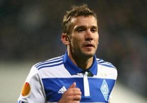Шевченко сыграл 50-й еврокубковый матч за Динамо