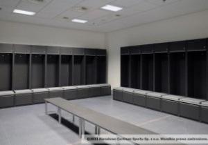 Фотогалерея: Комфорт для футболистов. Раздевалки стадиона к Евро-2012 в Варшаве