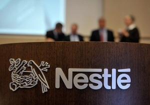 Продажи Nestle снизились на 13,5%