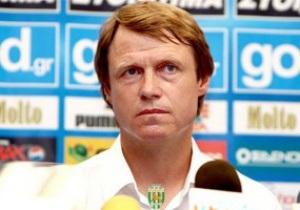 Карпаты объявили об отставке главного тренера