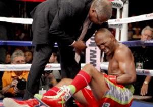 Бернард Хопкинс потерял титул чемпиона мира по версии WBC