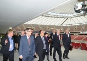 Платини доволен подготовкой Польши к Евро-2012