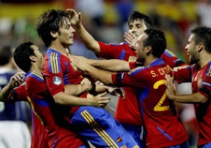 Сборная Испании установила рекорд