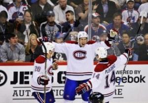 NHL: Montreal Canadiens в гостях громят Winnipeg Jets
