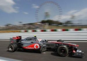 Гран-при Японии: Баттон доминирует на пятничных практиках