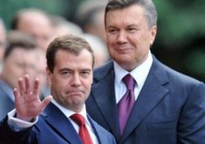 Янукович и Медведев могут посетить матч Шахтер - Зенит