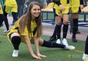 Фотогалерея: Играй красиво. Футбольный матч финалисток конкурса Мисс Металлист
