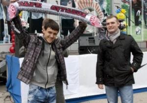 В Луганске открылся магазин фирменной атрибутики ФК Заря