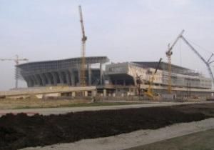 Фотогалерея: За месяц до открытия. Арена Львов в сентябре