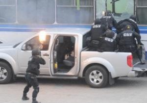 Фотогалерея: Антитеррористические учения к Евро-2012 на Донбасс Арене