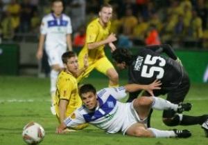 Лига Европы: Динамо показало невыразительную игру в Тель-Авиве