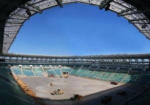 Первый матч на новом стадионе в Одессе состоится 19 ноября