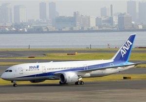 Японская авиакомпания получила первый  Boeing-787 Dreamliner