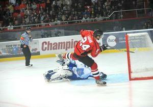 Сокол обыграл Донбасс в матче открытия чемпионата Украины по хоккею