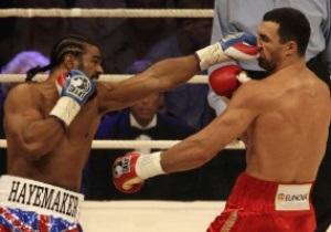 Хэй: Не верю, что Виталий Кличко - достаточно мужественный человек, чтобы боксировать со мной
