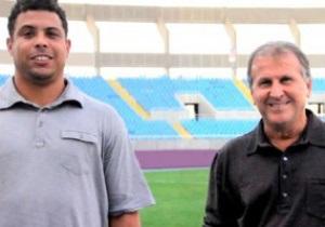 Роналдо и Зико создали интернет-портал для поиска футбольных талантов