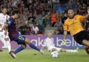 Милан вырывает ничью у Барселоны на последних секундах