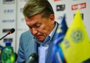 Блохин: Будет очень серьезный разговор с ветеранами сборной