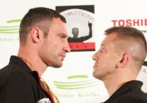 Бой Кличко и Адамека в прямом эфире покажут в России