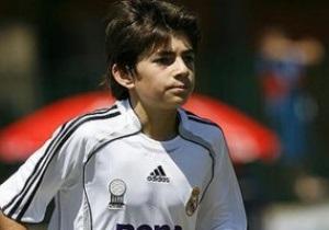 Сын Зидана приступил к тренировкам в главной команде Реала