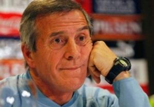 Тренер сборной Уругвая: Будем играть только на победу, а если вратари травмируются, то в рамку станет Суарес