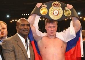 Менеджер Поветкина рассказал, что Александр занимается боксом из-за Холифилда