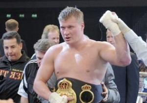 Фотогалерея: Опоясался. Александр Поветкин стал чемпионом WBA