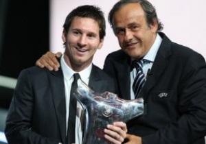 Лионель Месси признан лучшим футболистом Европы