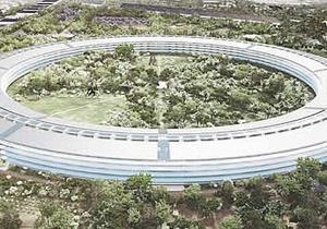 Новая штаб-квартира Apple будет построена в виде огромного стеклянного кольца