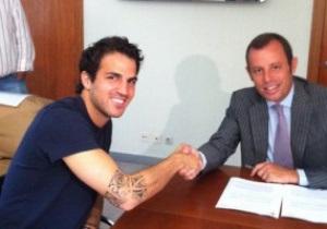 Конец эпопеи. Фабрегас подписал контракт с Барселоной на пять лет
