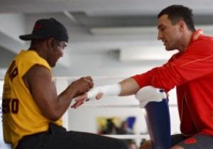 Тренер Кличко начал готовить боксера, решившего побить Хэя