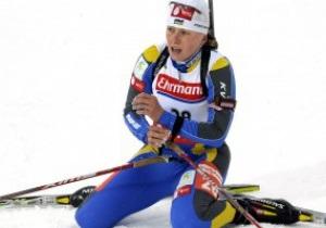 Украинская биатлонистка дисквалифицирована на год за применение допинга
