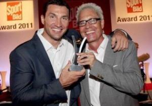 Кличко отримав нагороду за організацію найкращої спортивної події 2011 року