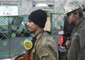 В Донецкой области приостановили работы на 57 шахтах