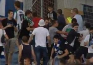 Служба безопасности Динамо: С избитым болельщиками мужчиной все в порядке