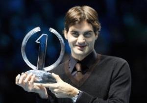Роджер Федерер отмечает 30-летие