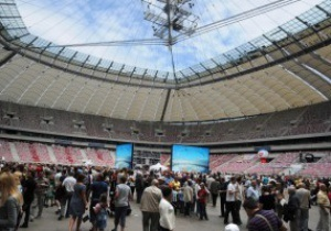 Евро-2012: День открытых дверей на арене в Варшаве станет еженедельным