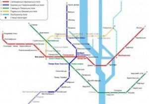 До Євро-2012 в Києві пронумерують лінії та станції метро
