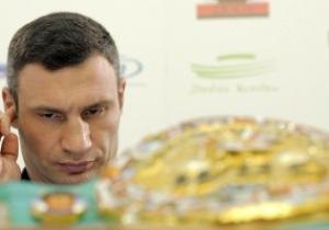 Кличко начал подготовку к бою с Адамеком