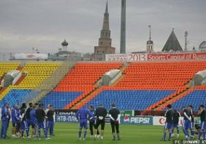 Вечер перед битвой. Тренировка Динамо в Казани