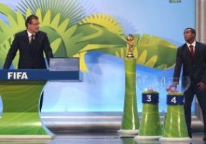 Украина узнала соперников по отбору на Чемпионат мира по футболу 2014 года