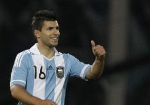 AS: Агуэро стал игроком Манчестер Сити