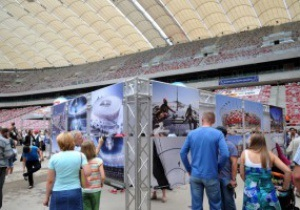 Фотогалерея: Прогулка по Арене. День открытых дверей на стадионе в Варшаве
