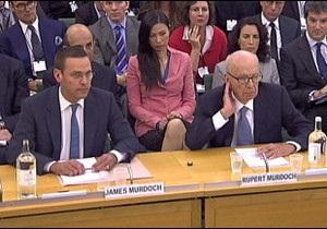 Мердоки відповіли перед депутатами за скандал з News of the World