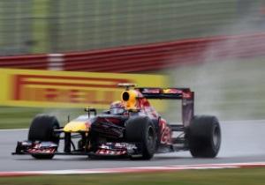 Уэббер выиграл первую практику Гран-при Великобритании