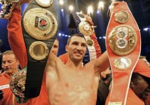 Братья Кличко завтра в Киеве представят собранные чемпионские пояса