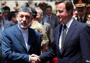 Британський прем єр закликав Талібан скласти зброю і зайнятися політикою