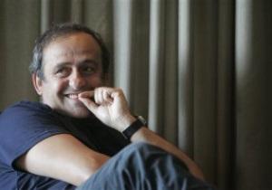 Платини: Кроме аэропортов, в подготовке Украины к Евро-2012 меня ничто не беспокоит