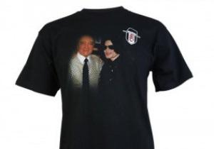Фулхэм продает клубную атрибутику с изображением Майкла Джексона