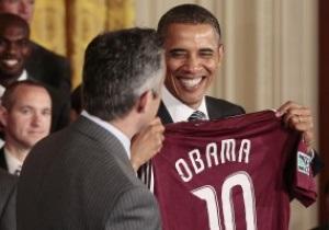 Барак Обама приравнял себя к Лионелю Месси